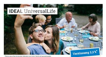 Bild der Broschüre für die IDEAL UniversalLife